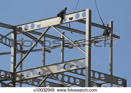 Stock Photograph of Steel Structure u10032949.