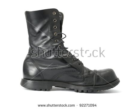 Steel Toe Boots Stock Images, Royalty.