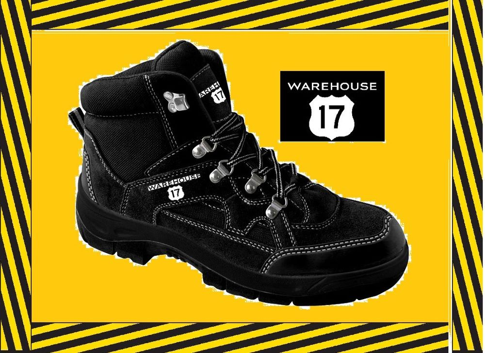 Brand New Safety Boot Size EU44 (UK 9/9.5) Steel Toe Cap.