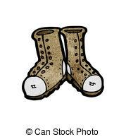 Stock Illustrations of cartoon steel toe cap boots csp28337256.