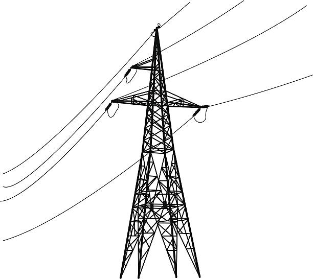 Steel Tower Clip Art, Vector Images & Illustrations.