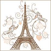 Steel Tower Clip Art.
