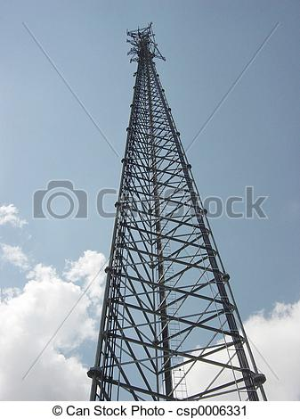 Stock Photography of Cell Tower.