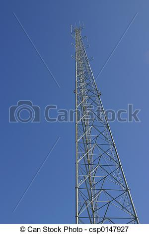 Picture of Steel Cell Tower.