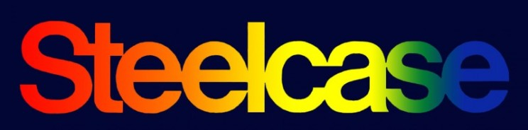 Steelcase Logos.