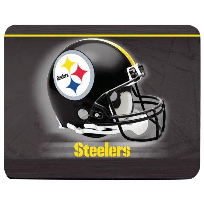 Pittsburgh Steelers Helmet Logo Mouse Pad.