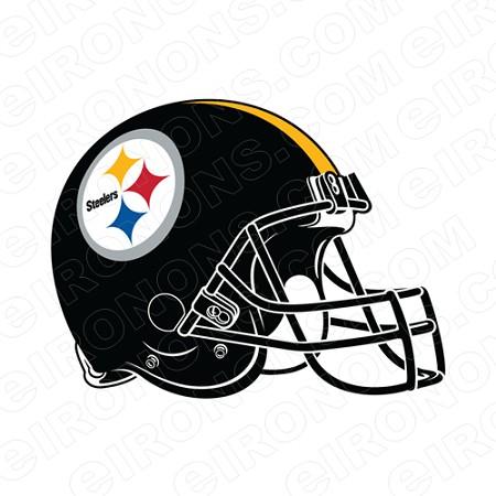 PITTSBURGH STEELERS HELMET LOGO SPORTS NFL FOOTBALL T.