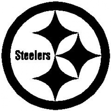 Free Pittsburgh Steelers Logo Black And White, Download Free.