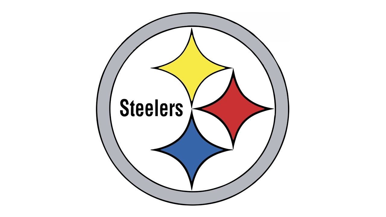 How to Draw the Pittsburgh Steelers Logo (NFL).