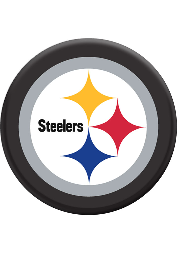 Pittsburgh Steelers Black Helmet Logo PopSocket.