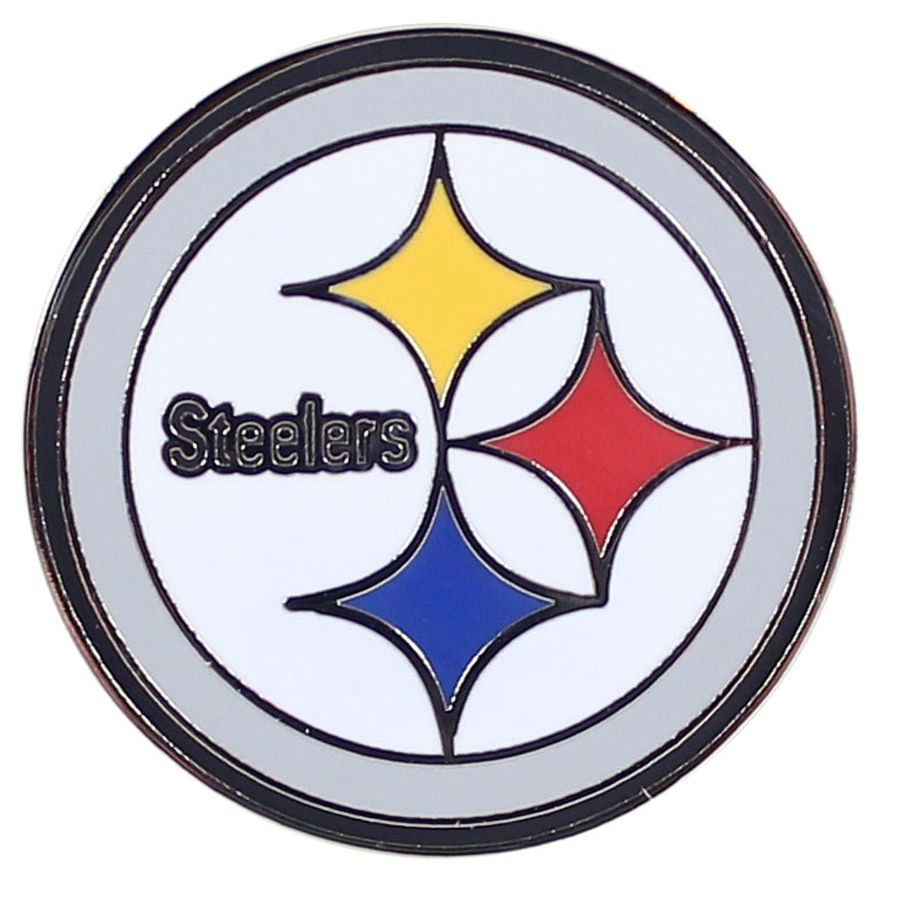 Pittsburgh Steelers Logo Pin.
