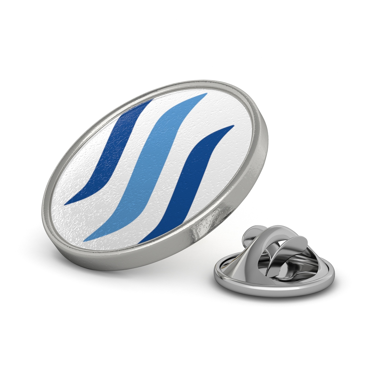 Steem Logo Pin.