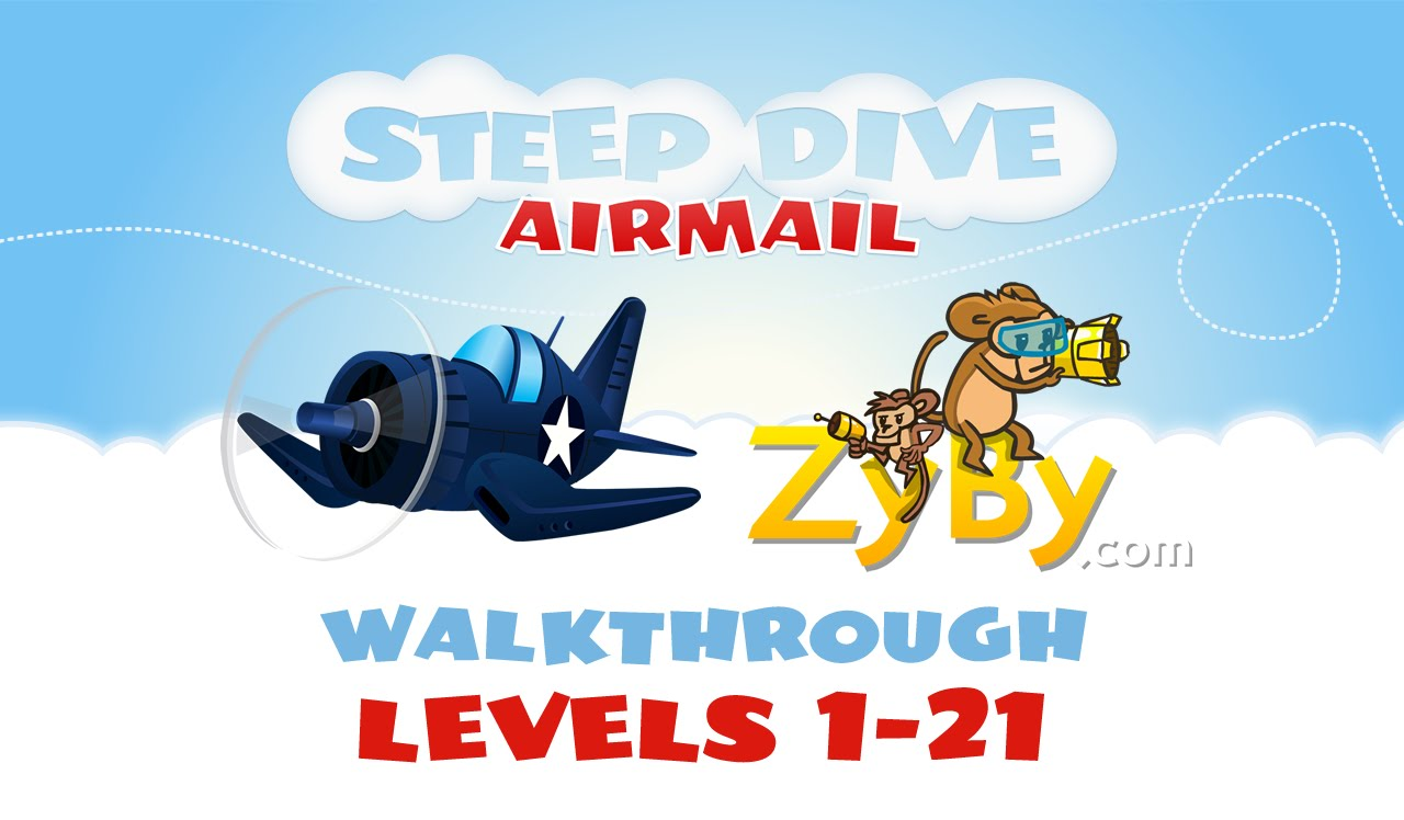 Steep Dive: Airmail Walkthrough (Levels 1.