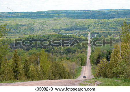 Stock Photography of steep grade k0308270.