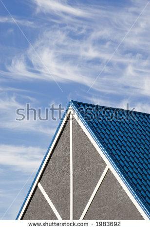 Steep Roof Stock Photos, Royalty.