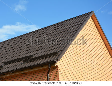 Sloped Roof Stock Photos, Royalty.