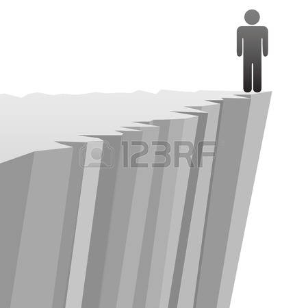 299 Cliff Edge Stock Illustrations, Cliparts And Royalty Free.