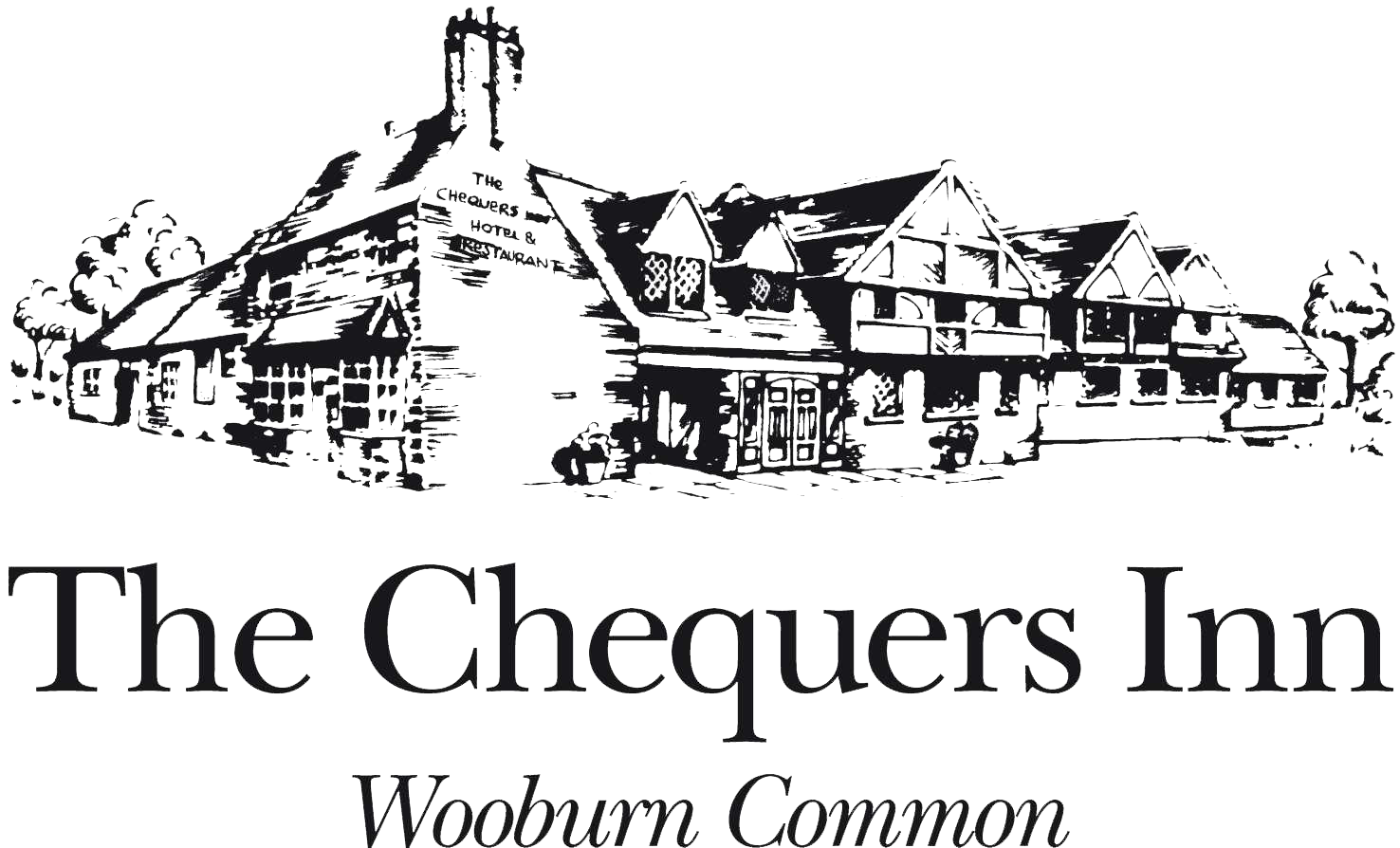 CHEQUERS INN AT WOOBURN.