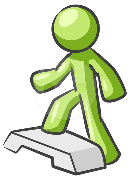 Stepping clipart.