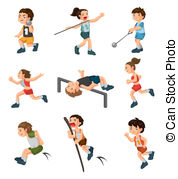 Steeplechase Clipart Vector Graphics. 60 Steeplechase EPS clip art.
