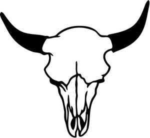 25+ Cow Skull Clip Art.