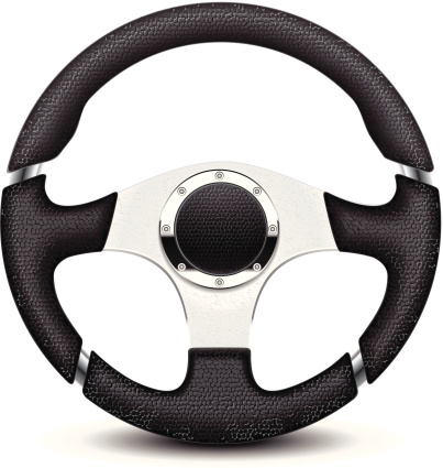 Steering Wheel Clip Art, Vector Images & Illustrations.