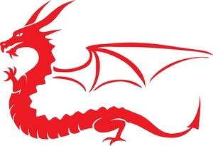 Free Dragon Clip Art Image.