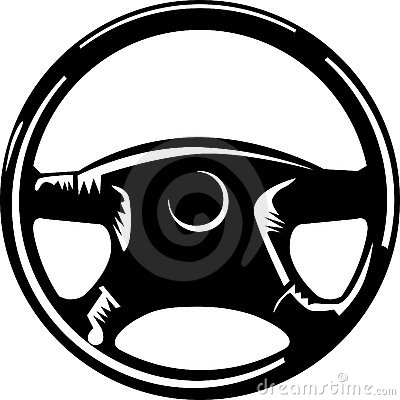 Steering Wheel Stock Photography.