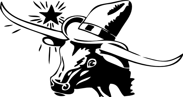 Texas Steer Clip Art at Clker.com.