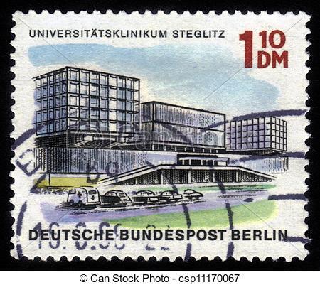 Stock Image of University Hospital Steglitz.