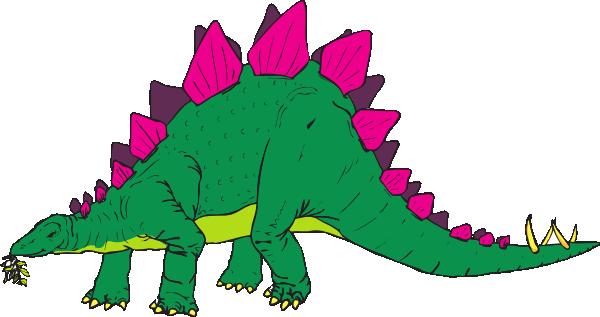 Free Stegosaurus Clip Art.