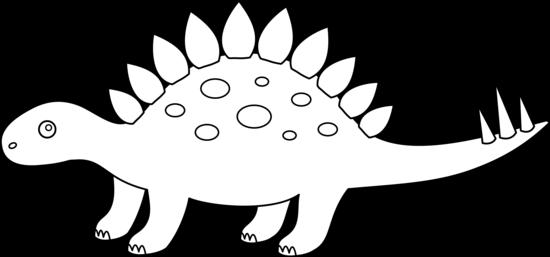 Stegosaurus Coloring Page.
