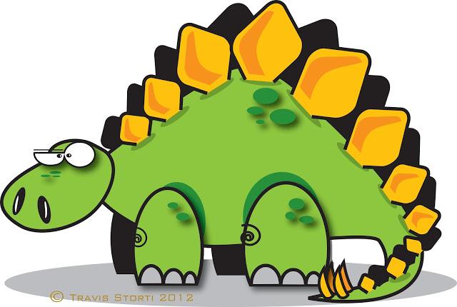 18+ Stegosaurus Clip Art.