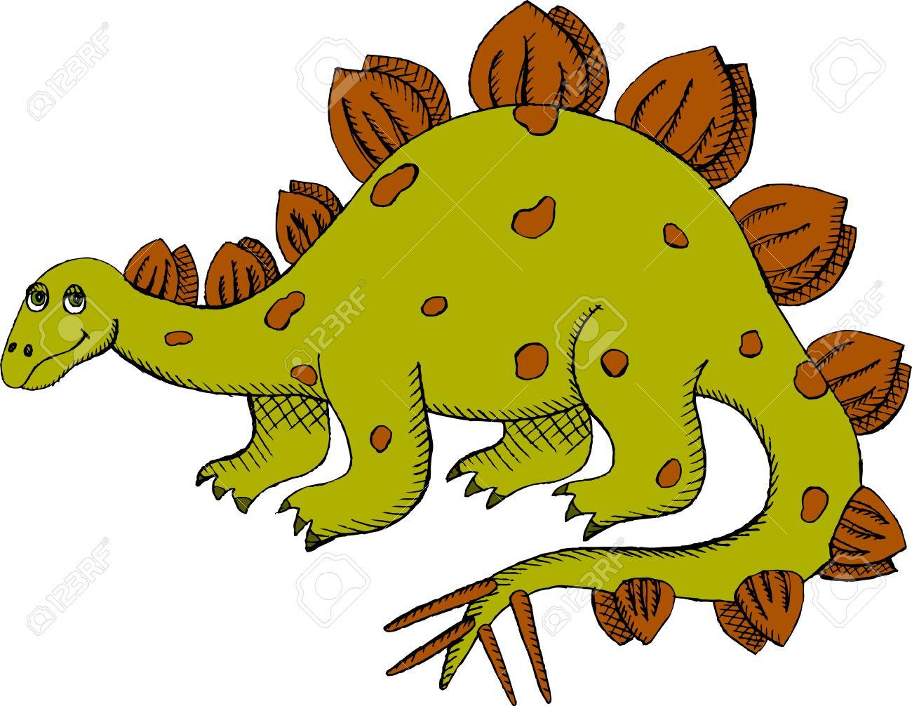 Clipart Stegosaurus.