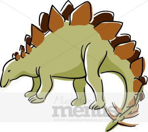 Stegosaurus Clipart.