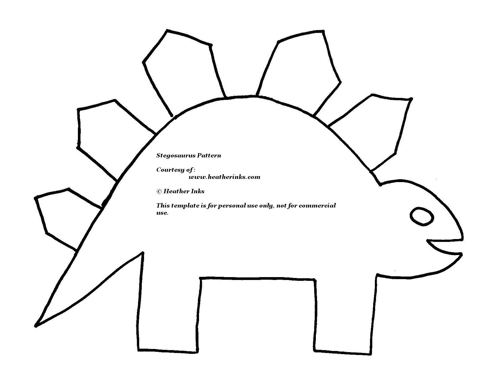 Stegosaurus Clip Art Black And White.