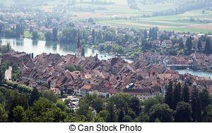 Pictures of St. George's Abbey in Stein am Rhein, Switzerland.
