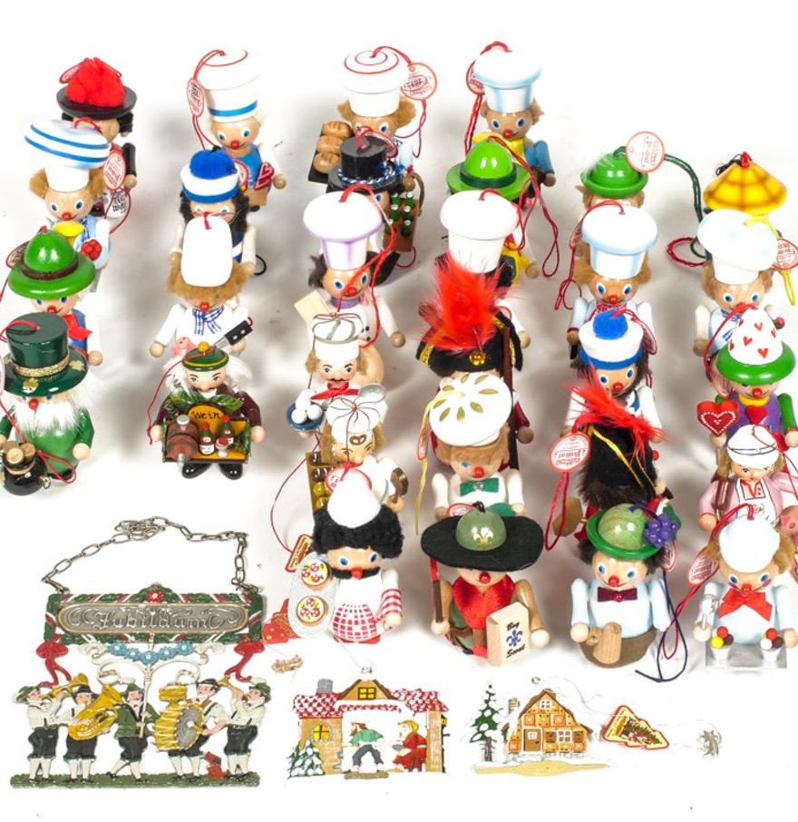 Generous Assortment of Steinbach Ornaments : EBTH.