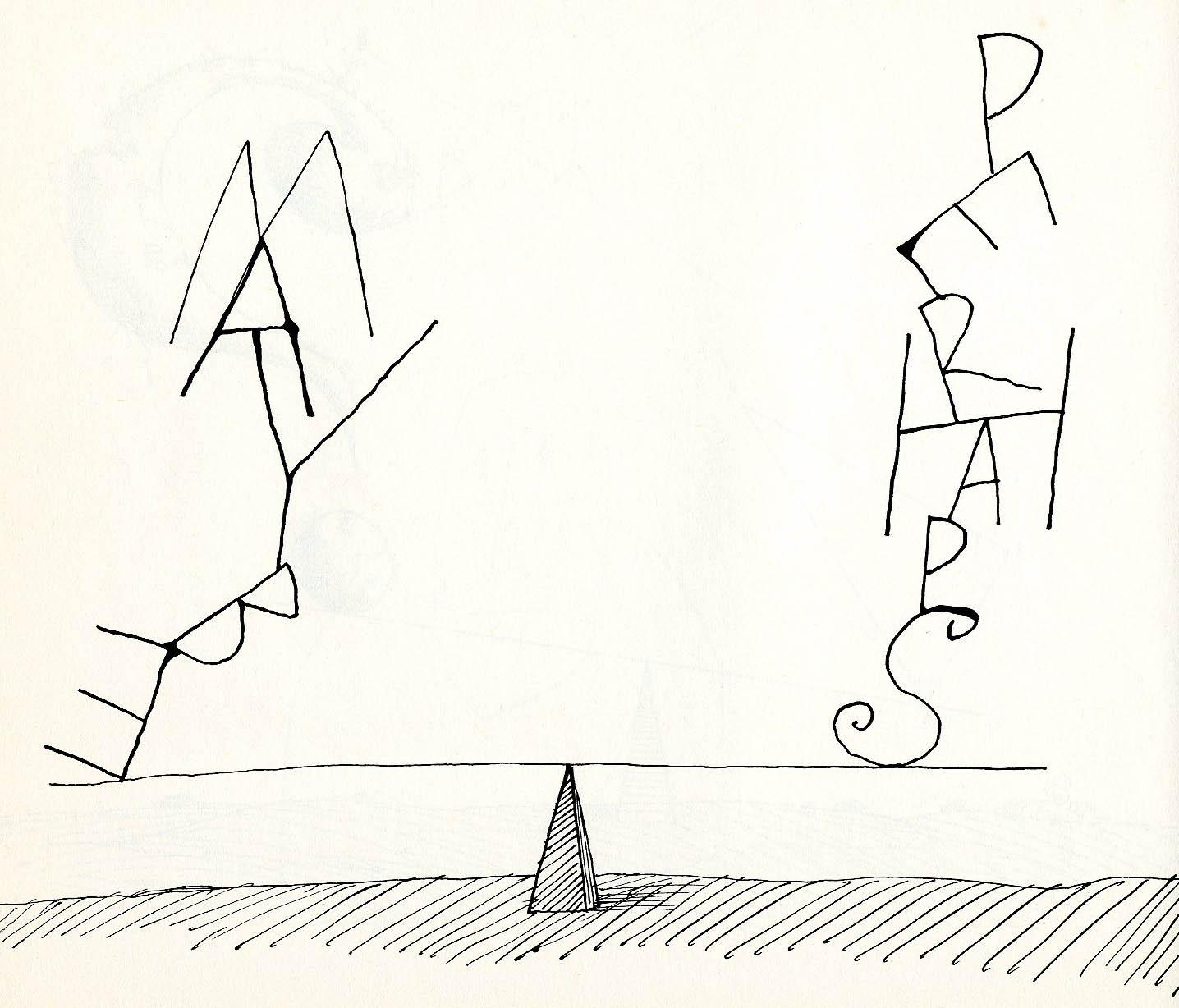 Saul Steinberg Clipart.