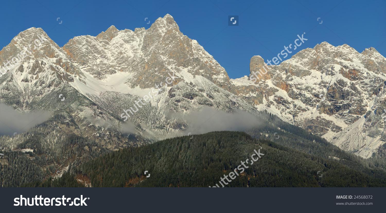 Alps In Austria.