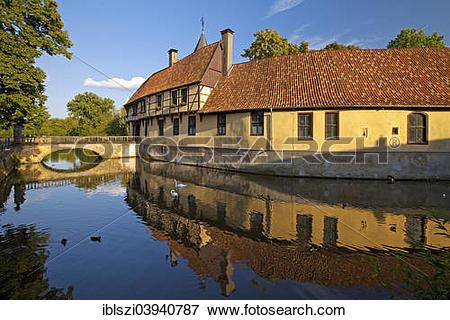 "Picture of ""Schloss Burgsteinfurt castle, Burgsteinfurt, Steinfurt."