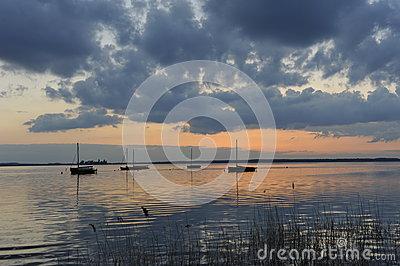 Wilhelmstein Island In The Steinhuder Meer Lake Stock Photo.