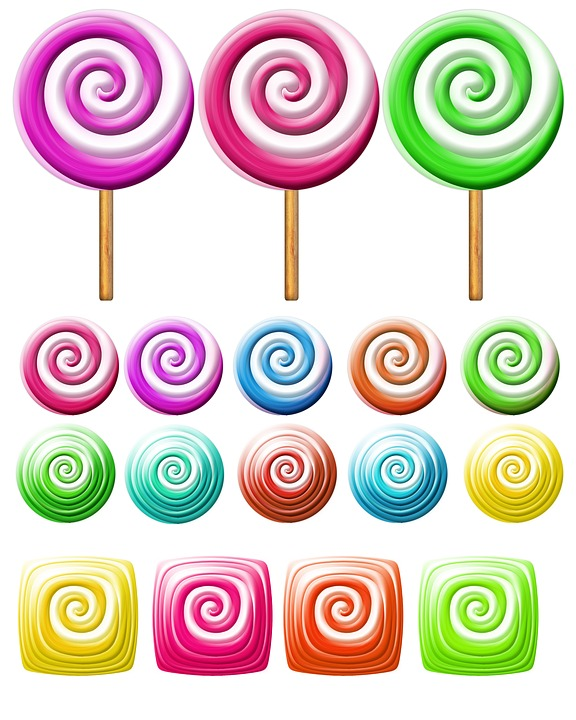 Free photo Lollies Skittles Candy Lolly Confectionery Sweets.