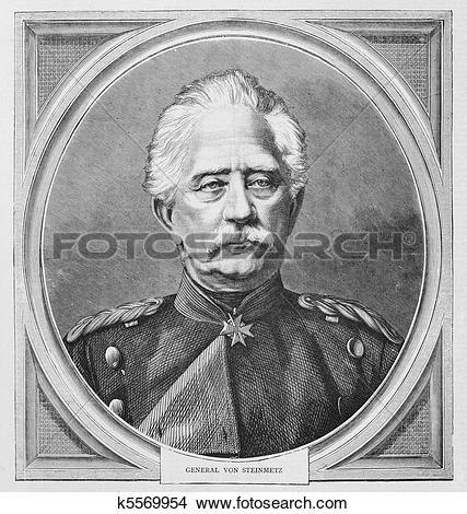 Stock Photo of Karl Friedrich von Steinmetz k5569954.