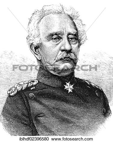 "Stock Photography of ""Historical illustration, portrait of Karl."