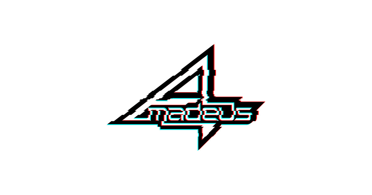 Steins;Gates\' Amadeus Logo Glitch Effect by bardor2.