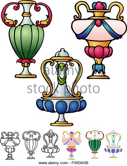 Rococo Style Cut Out Stock Images & Pictures.