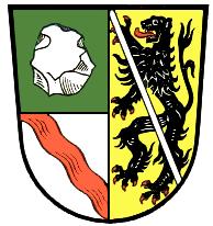 Liste der Wappen im Landkreis Kronach.