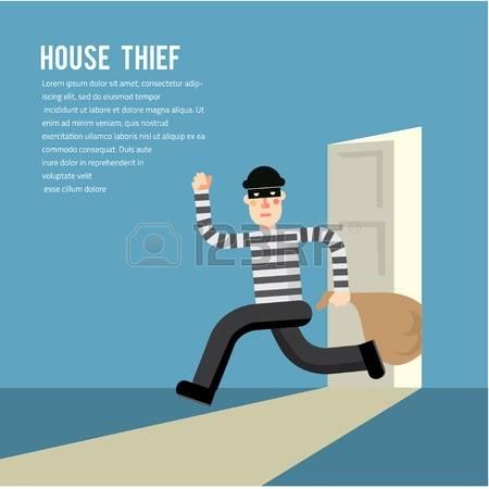 15,536 Burglar Stock Vector Illustration And Royalty Free Burglar.