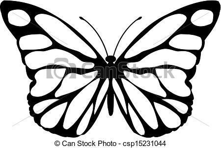EPS Vector of Malalachite butterfly.